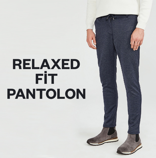 Relaxed Fit Pantolon